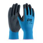 PIP G-Tek Lite 55-AG316 Blue Large Latex Unsupported Chemical-Resistant Gloves - 9.8 in Length - Rough Finish - 55-AG316/L