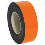 Shipping Supply Orange Magnetic Label Roll - 100 ft x 2 in - SHP-12205