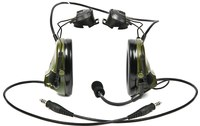 3M Peltor Swattac III MT17H682P3AD-19 Black Two-Way Radio Headset - 093045-93480