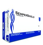 Sempermed SemperShield SSNF Blue Large Powder Free Disposable Gloves - Medical Grade - Rough Finish - SSNF104