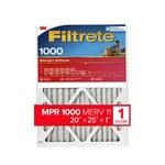 3M Filtrete 20 in x 25 in x 1 in 9803DC-6 MERV 11, 1000 MPR Micro air filter - 09803