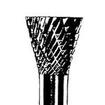 Dynabrade SN-42 Carbide Abrasive Burr - Inverted Cone - 1/8 in Diameter - 10 Angle - 93349
