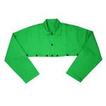 West Chester Ironcat 7051 Green Large Irontex Welding Cape Sleeves & Bib - 662909-004369