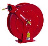Reelcraft Industries 80000 Series Hose Reel - 75 ft Hose Included - Spring Drive - 82075 OLP