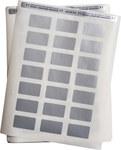 Brady Permashield LAT-24-773-1 Silver Polyester Laser Printable Label - 1.75 in Width - 1 in Height - B-773, B-966B