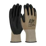 PIP G-Tek Neofoam 34-605 Brown/Black XXL Nylon Cut-Resistant Glove - NeoFoam Palm & Fingertips Coating - 10.2 in Length - 34-605/XXL