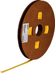 Brady Permasleeve PS-C-250-YL Yellow Polyolefin Continuous Thermal Transfer Printer Heat-Shrink Tubing - 90 ft Length - 99599