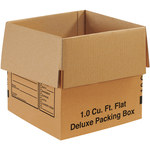 Shipping Supply Kraft Deluxe Packing Boxes - 12 in x 12 in x 12 in - SHP-2180