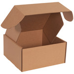 Shipping Supply Kraft Literature Mailers - 10 in x 10 in x 5 in - SHP-11587