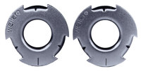 Weiler 1/2 in Adapter - Use With All 2 in (I.D) Wheels - 03809