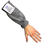 Global Glove Spectaguard Samurai CR336G Black 10 in Cut-Resistant Cape Sleeves Only - ANSI 5 Cut Resistance - CR336-S10 10IN