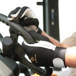 Impacto 403-30 RH Black/White Large Leather/Nylon/Spandex/Visco-Elastic Polymer Work Glove - 40330110042