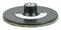 Weiler Sanding Disc Backing Pad - Hook & Loop Attachment - 4 1/2 in Diameter - 51569