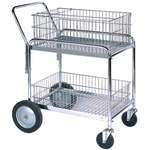 "33"" x 20"" x 37 1/2"" Mail Cart - 1 EACH"
