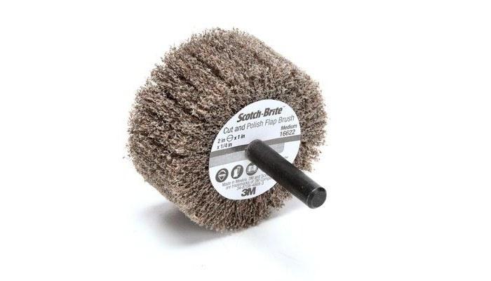 3M Scotch-Brite PF-ZS Flap Wheel 16622, Aluminum Oxide, 2 in